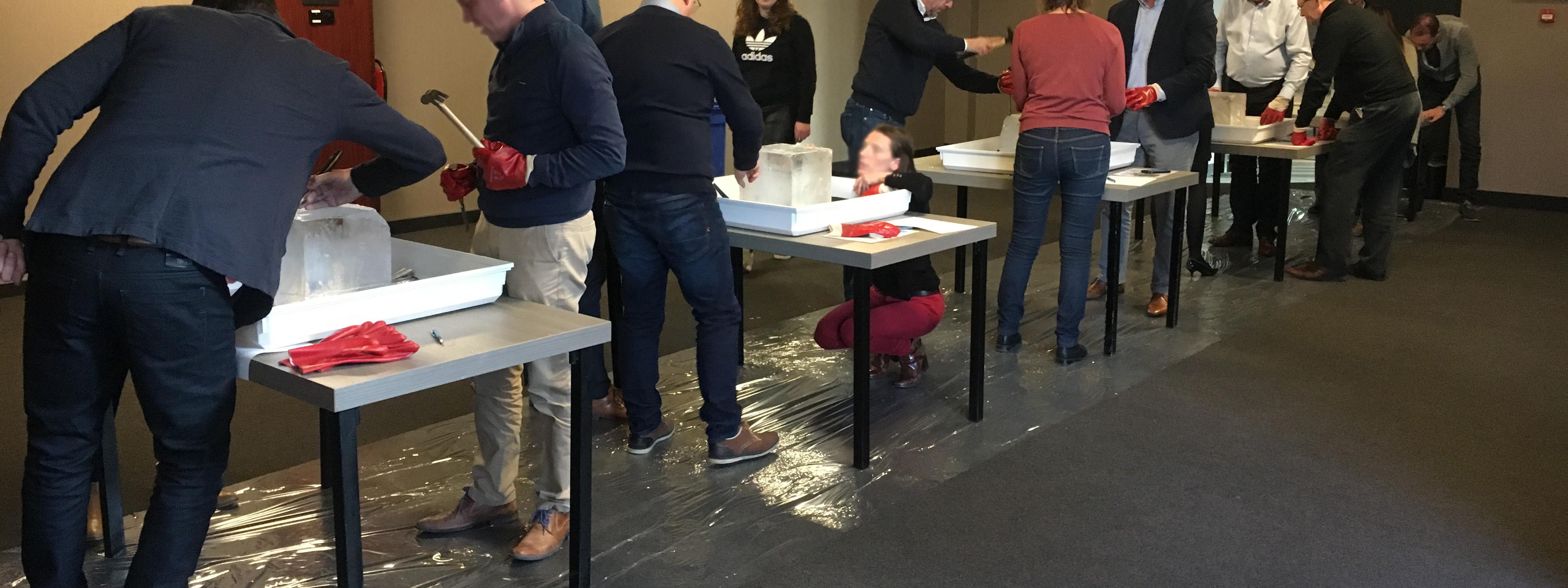 teamuitje-den-bosch-workshop-ijssculpturen
